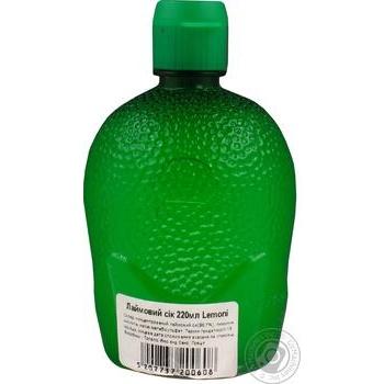 Сок Lemoni лаймовый концентрированный 220мл - купить, цены на Ашан - фото 3