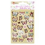 Santi Butterfly Set of Decorative Stickers on Kraft Paper 2pcs 10x15cm