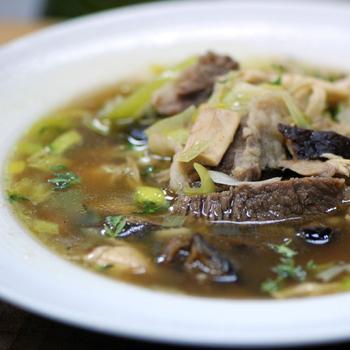 Суп из тушеного мяса