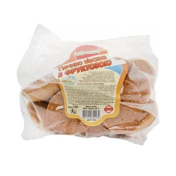 Cookies Zdravo Daylight oat on fructose 300g sachet - buy, prices for MegaMarket - image 1