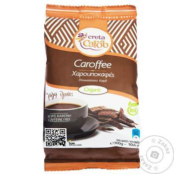Напиток Greta Carob Caroffee кофейный органический из плодов кофейного дерева 300г - купить, цены на Ашан - фото 1