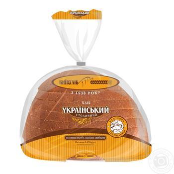 Хлеб Киевхлеб Украинский Столичный нарезка 475г - купить, цены на Ашан - фото 5