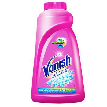 Пятновыводитель жидкий для тканей Vanish Oxi Action 1л - купить, цены на Восторг - фото 1