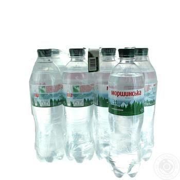 Вода Моршинская слабогазированная 0,75л опт*12шт