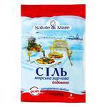 Соль Salute di Mare морская пищевая мелкая йодированная 600г - купить, цены на Восторг - фото 1