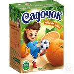 Нектар Садочок апельсиновый 0,2л