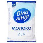 Молоко Белая Линия ультрапастеризованное 2,5% 900г