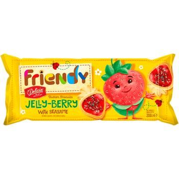 Friendy Jelly Berry Butter Cookies 200g - buy, prices for CityMarket - photo 3