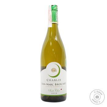 Вино Jean Marc Brocard Chablis Domain Sainte Claire белое сухое 12.5% 0.75л