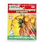 Фіточай Ключі здоров'я ананас та полуниця для схуднення 20шт - купити, ціни на Ашан - фото 1