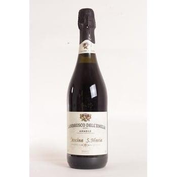 Wine Cascina s.maria lambrusco Private import grape red sparkling 7.5% 750ml glass bottle Italy