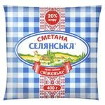 Selianska Sour Сream 20% 400g