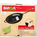 Biol Frying Pan cast iron with detachable handle 26cm