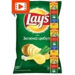 Чипси Lay's зі смаком зеленої цибулі 133г
