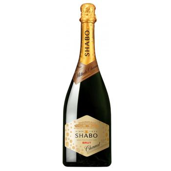Shabo Charmat Brut white dry wine 10.5-13.5% 0.75l - buy, prices for Auchan - photo 1