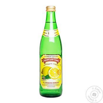 Напиток газированный Грузинский Букет Лимон 0.5л