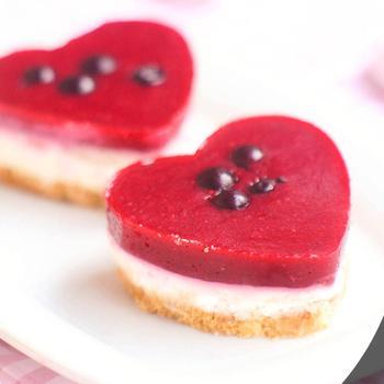 Мини-чизкейки ко Дню Святого Валентина