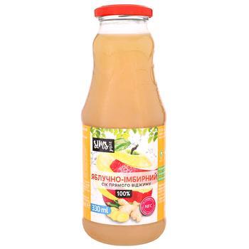 Sims Juice Apple-Ginger Juice 0.33l