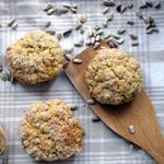 Хрустящее пасхальное печенье с орехами без муки
