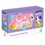 DoDo Animals and Their Habitat Lotto Table Game