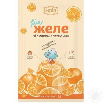 Желе Мрия со вкусом апельсина 90г