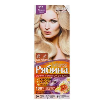 Краска для волос Acme Intense Рябина 111 Мокрый песок