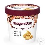 Ice-cream Haagen-dazs peanuts 460ml