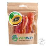 Winway Dried Papaya 100g - buy, prices for Novus - image 1