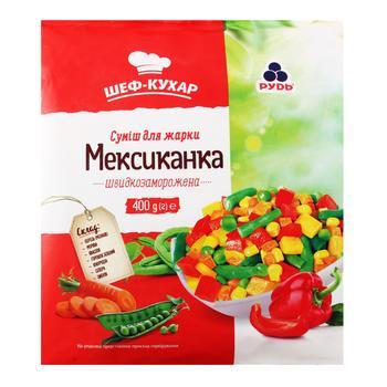 Смесь овощная Рудь Мексиканка для жарки 400г
