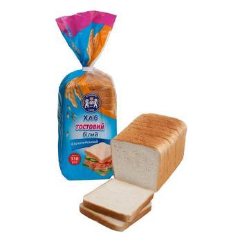 Хліб тостовий Кулиничі Європейський білий 330г - купити, ціни на CітіМаркет - фото 1