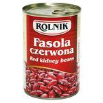 Квасоля Rolnik червона консервована 425мл
