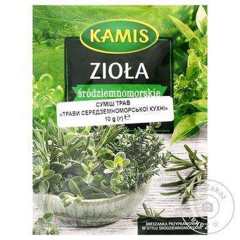 Суміш трав Kamis середземноморської кухні 10г - купити, ціни на Novus - фото 1