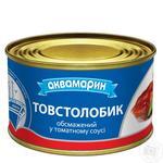 Толстолобик Аквамарин обжаренный в томатном соусе 230г