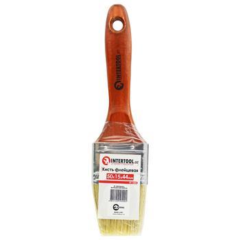 Щетка флейцевая Intertool 50мм КT-1050 - купить, цены на Novus - фото 1