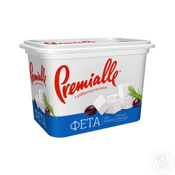 Premialle Feta Cheese 45% 500g - buy, prices for Furshet - image 1