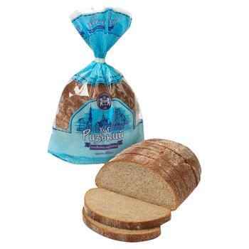 Хлеб Кулиничи Рижский половинка нарезанный 400г - купить, цены на Фуршет - фото 1