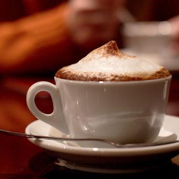 """Кофе """"капучино"""" в микроволновке"""