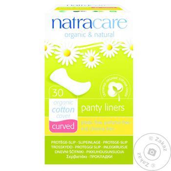 Прокладки Natracare ежедневные 30шт - купить, цены на Ашан - фото 1