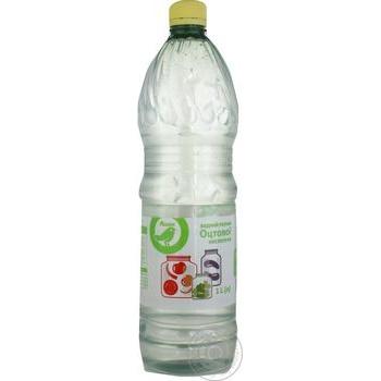 Водный раствор Ашан уксусной кислоты 1л