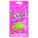 Жувальная гумка Dirol фруктовий мікс 30г