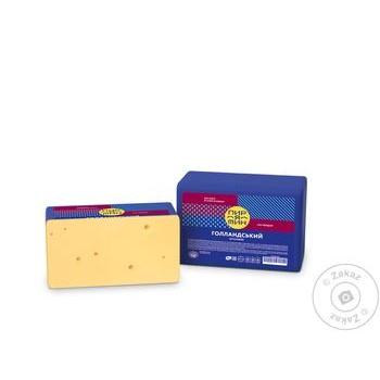 Cheese dutch Piryatin cow milk hard 45% - buy, prices for Furshet - image 1