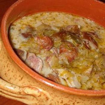 Суп из квашеной капусты по‑венгерски