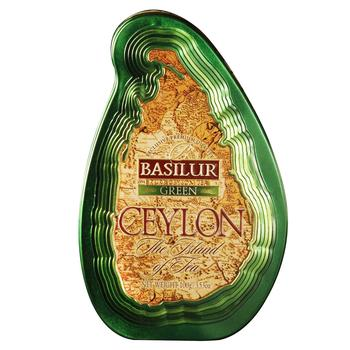 Чай Basilur Ceylon the Island of tea зеленый 100г