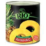 Ананаси Ріо кільцями в сиропі 580мл Таїланд