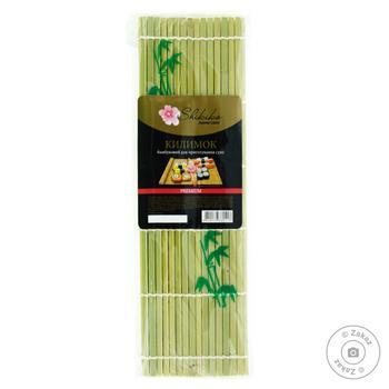 Коврик для приготовления суши бамбук Shikiko - купить, цены на Фуршет - фото 1