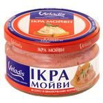 Veladis In Sauce With Smoked Salmon Pieces Capelin Caviar 180g