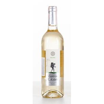 Вино Vigneron Catalan Blanc белое сухое 12% 0,75л