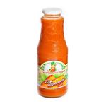 Juice S babushkinoy gryadki carrot 1000ml glass bottle Ukraine