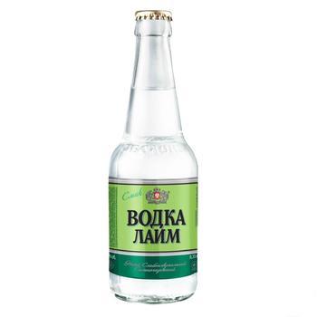 Obolon Vodka Lime Low-alcohol beverage 0,33l glass - buy, prices for CityMarket - photo 2
