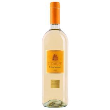 Sizarini Chardonnay Veneto IGT white dry wine 11,5% 0,75l - buy, prices for CityMarket - photo 1